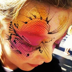 Wicked Face Painting