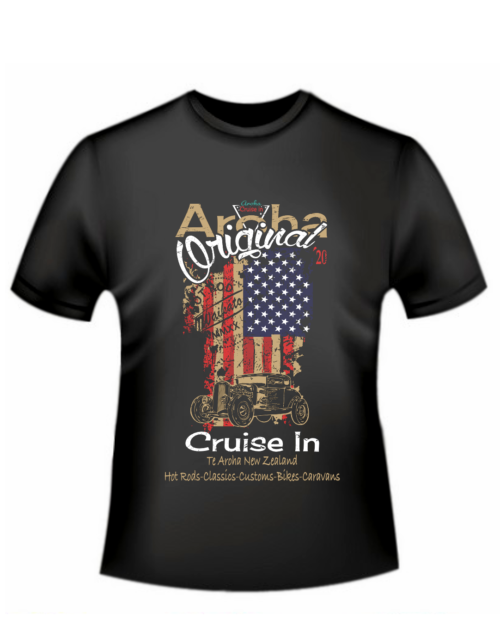 Aroha Cruise In 2020 t-shirt